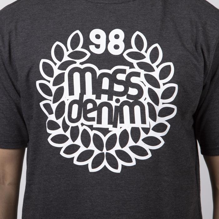 Mass DNM koszulka Base T shirt dark heather grey | shop