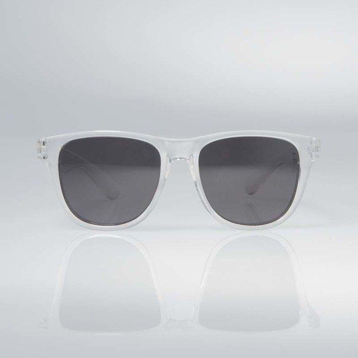 Mass Denim okulary przeciwsłoneczne John transparent white