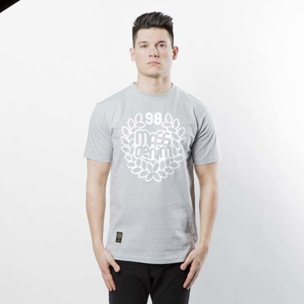 Mass DNM koszulka Base T shirt light heather grey shop